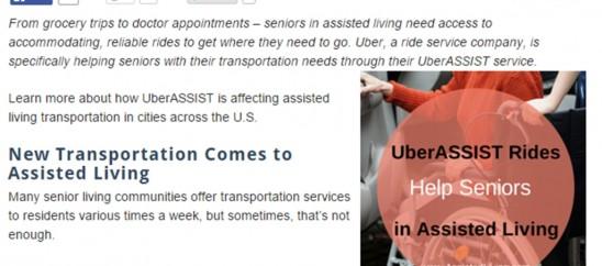 Uber Article Screenshot
